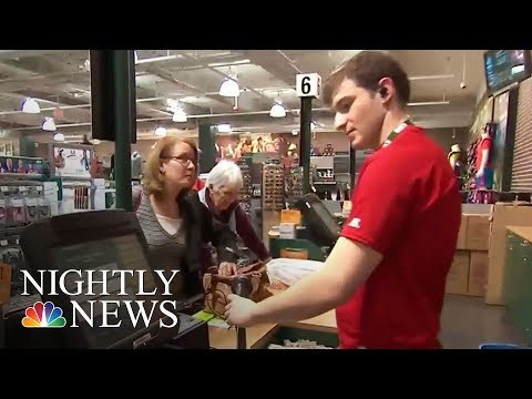 As Stores Close Nationwide, Summer Retail Jobs Harder For Teens To Find | NBC Nightly News