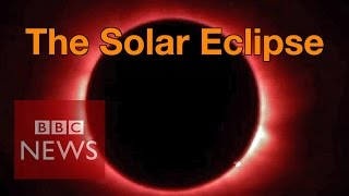 Video Solar Eclipse: 'Breathtaking' views witnessed by millions - BBC News MP3, 3GP, MP4, WEBM, AVI, FLV Juli 2018