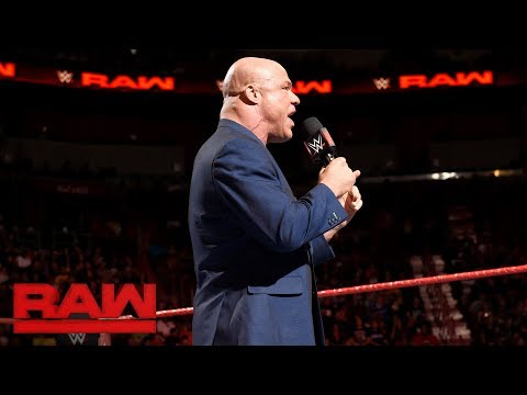 Kurt Angle reveals the rules for the first-ever Women's Royal Rumble Match: Raw, Jan. 1, 2018