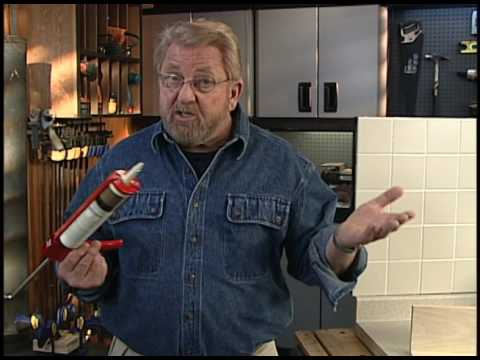 How to Get Smooth Caulk Joints