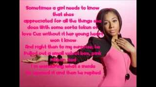 Tiffany Evans- Promise Ring Lyrics