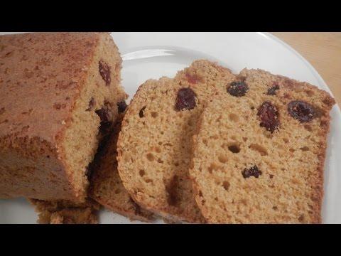 Orange Cranberry Wheat Germ Loaf 20 October 2014 04 PM