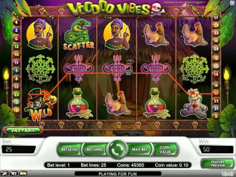 Voodoo Vibes - video slot