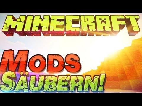 mods für minecraft - Um einem Blackscreen vorzubeugen solltest vor Minecraft 1.8.1 Mod installationen deinen Minecraft Ordner säubern. Das löscht alle unwichtigen dateien in de...