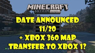 """Skyrim Mash-up Pack Release Date + """"Xbox 360 maps"""" Might Transfer to Xbox One!"""