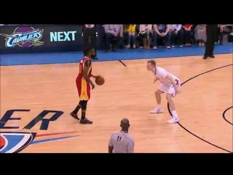 James Harden scores 8 points in 70 seconds late to put away Thunder