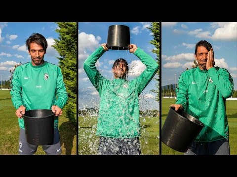 ice bucket challenge di gigi buffon