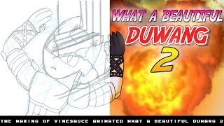 The Making of [Vinesauce Joel Animated] What A Beautiful Duwang 2 Here is a side by side comparison between the animatic...