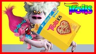 Dreamworks TROLLS Movie Poppy Eats Cheerios Part 2 - Bergens Chef Ellie Sparkles