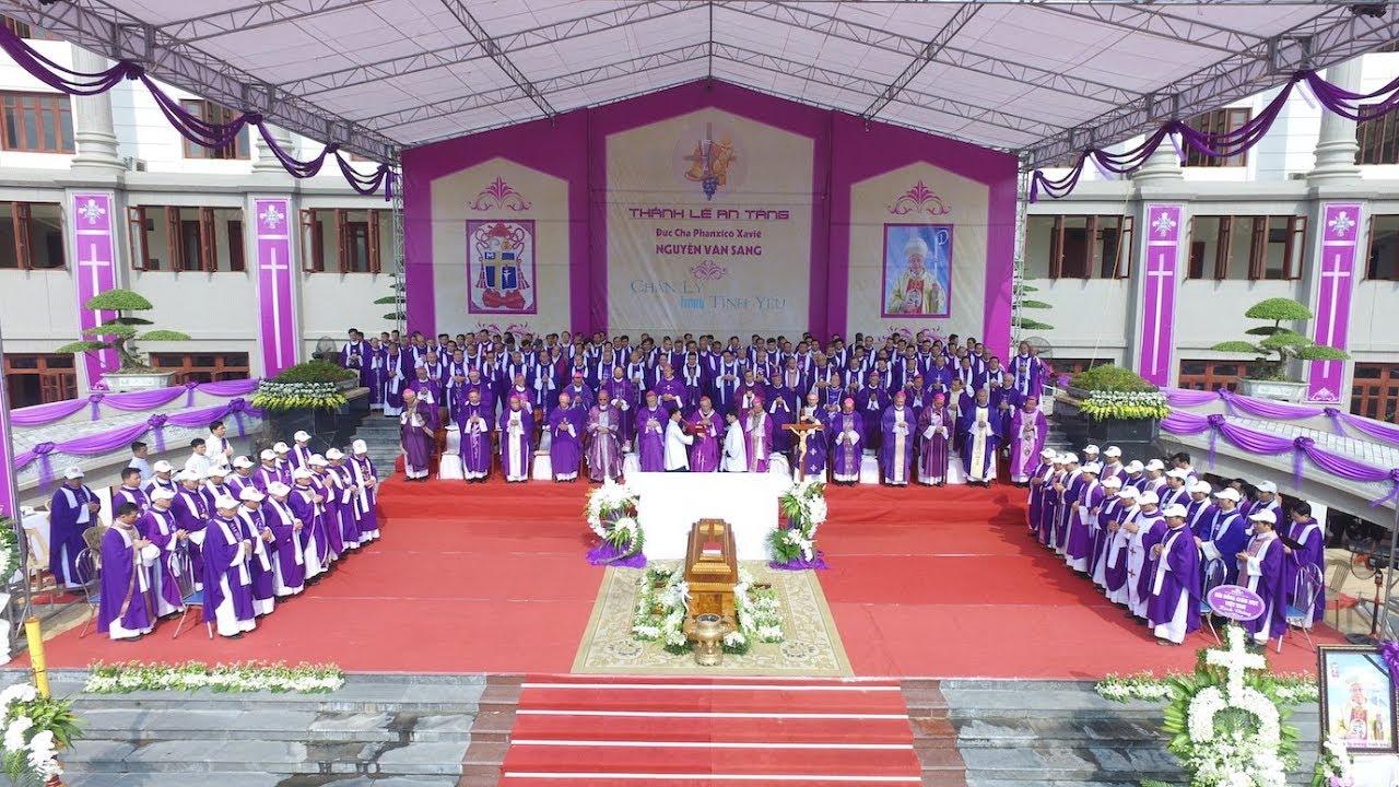 (Trực Tiếp) Thánh Lễ An Táng Đức cha Phanxicô Xaviê Nguyễn Văn Sang - Nguyên Giám mục Gp. Thái Bình