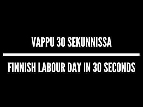 Korroosio Comedy – Vappu 30 sekunnissa