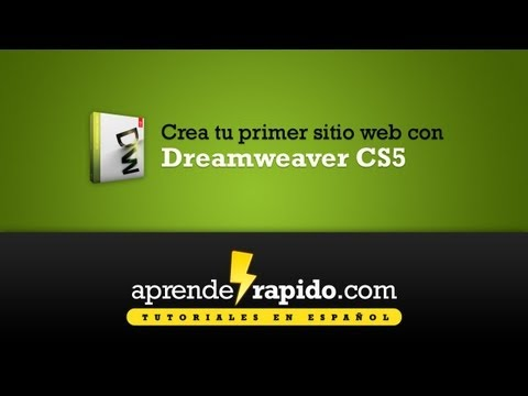 Video 2 de Dreamweaver: Dreamweaver CS5 - Parte 01 - Entendiendo Internet y los sitios web (http://aprenderapido.com/)