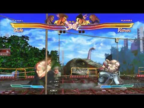 preview-Street Fighter x Tekken - E3 2011: Off-Screen Demo Part 1 (IGN)