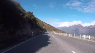 Lumsden New Zealand  City new picture : Nouvelle Zelande Route vers Lumsden, Gopro / New Zealand Road to Lumsden, Gopro