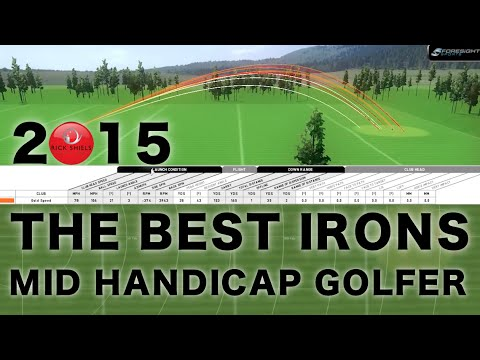 THE 2015 BEST IRONS BY MID HANDICAP GOLFER