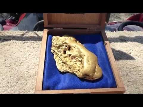 Miner discovers massive Butte Nugget