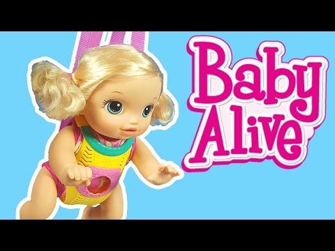 Emekleyen Oyuncak Bebek   Bebek Bakma Oyunu   Baby Alive Türkçe tanıtım   Evcilik TV