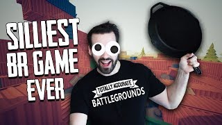 Video The Silliest BR Game There Is! w/ Ohmwrecker (Totally Accurate Battlegrounds) MP3, 3GP, MP4, WEBM, AVI, FLV Juni 2018