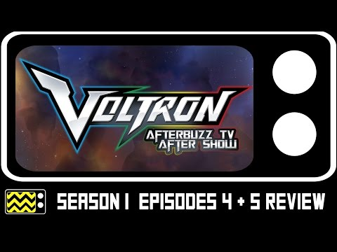 Voltron Legendary Defender Season 1 Episodes 4 & 5 Review & After Show | AfterBuzz TV