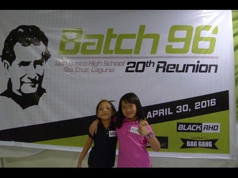DBHS 20th Reunion Batch 1996
