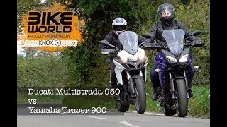 9. Ducati Multistrada 950 vs Yamaha Tracer 900