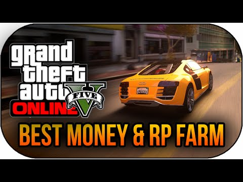 GTA 5 Online How To Make Money FAST – Insane Easy Money & RP Farm ! (GTA 5 Get Money Fast)