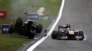 Download Lagu F1 2011 All Crashes Compilation Mp3