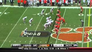 Andre Branch vs Auburn