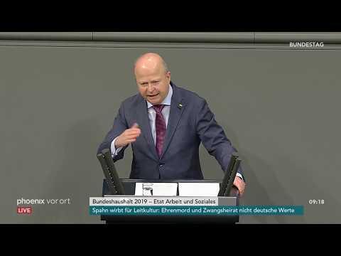 Haushaltswoche im Bundestag: Etat für das Ministerium A ...