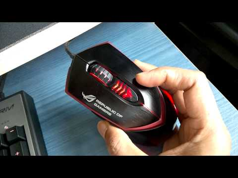 Asus ROG Eagle Eye GX1000 Gaming Mouse Review