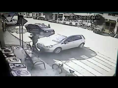 Bandidos fortemente armados assaltam banco em Fervedouro