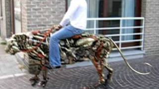 Mechanical Tiger in Brugge