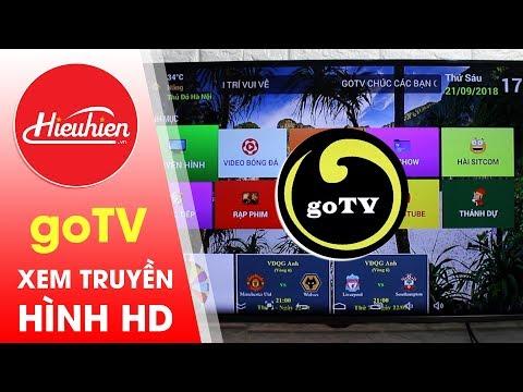 GOTV - Ứng dụng xem truyền hình HD mới nhất cho Android TV Box