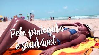 Pele protegida e saudável