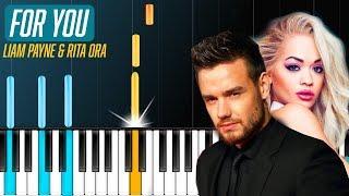 """Video Liam Payne & Rita Ora - """"For You"""" Piano Tutorial - Chords - How To Play - Cover MP3, 3GP, MP4, WEBM, AVI, FLV Februari 2018"""