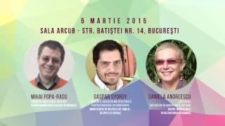 "Emisiune la Radio Romania Cultural: Despre conferinta ""Mindfulness in viata cotidiana"""