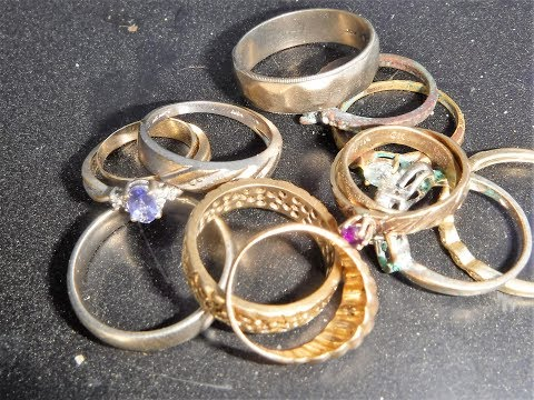 Gold Rings 4 Sale - Beach Metal Detecting