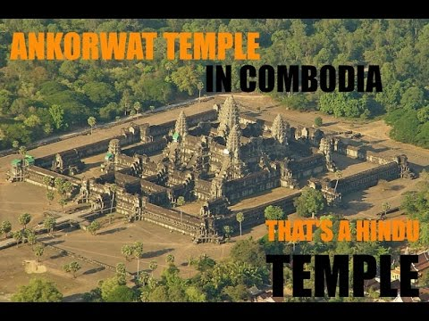 THE WORLD BIGGEST HINDU TEMPLE IN CAMBODIA(NOT IN INDIA)