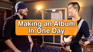 Video Making an Album in a Day (w/ Andrew Huang) MP3, 3GP, MP4, WEBM, AVI, FLV Oktober 2018