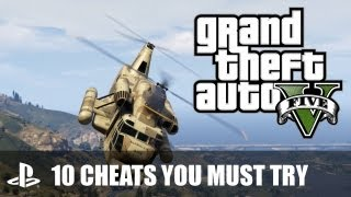 GTA V PS3 Cheats: 10 Grand Theft Auto V Cheats You Must Try
