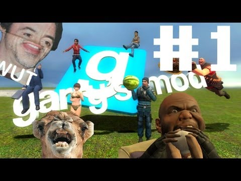 Let's play Garry's Mod! -Part.1- Spartan Kick FAIL!