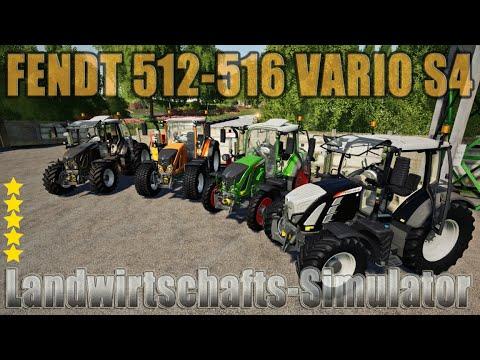 Fendt 512-516 Vario S4 v1.2.0.0