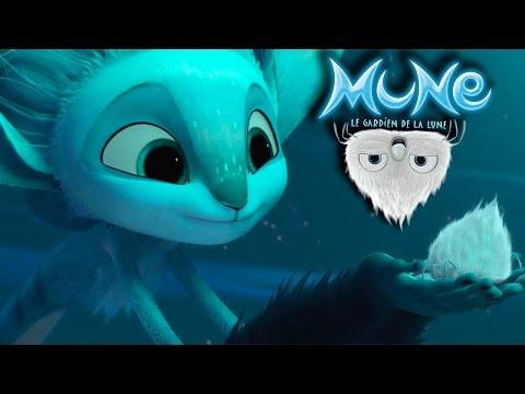 Mune Le Gardien de la Lune - Extrait : Mune et les araignées