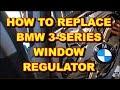 Window Regulator Installation BMW 3 Series e46