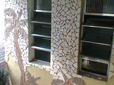 Mosaico na parede