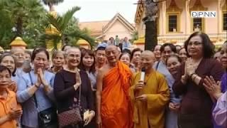 TT. Thích Nhật Từ cùng đoàn hành hương viếng thăm chùa Khleang - Sóc Trăng - 19-05-2018