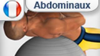 Exercices Abdominaux: Crunch avec ballon de gymnastique
