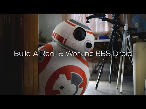 17yearold Tech Builder Built a LifeSize Smartphone Controlled BB8