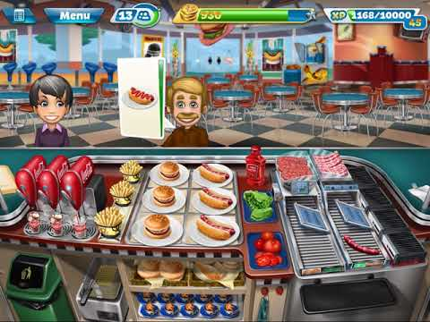 Cooking Fever Tournament Fast Food Court Level 5.