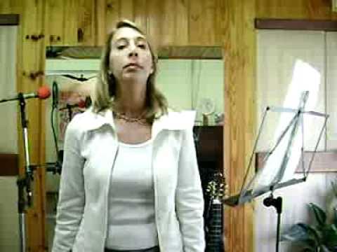 Exerccios para disfonias e quebras do som    canto